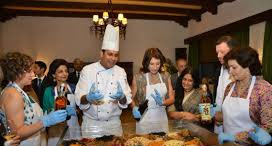 Tasting sessions of royal Mughlai cuisine and interaction with chefs and experts